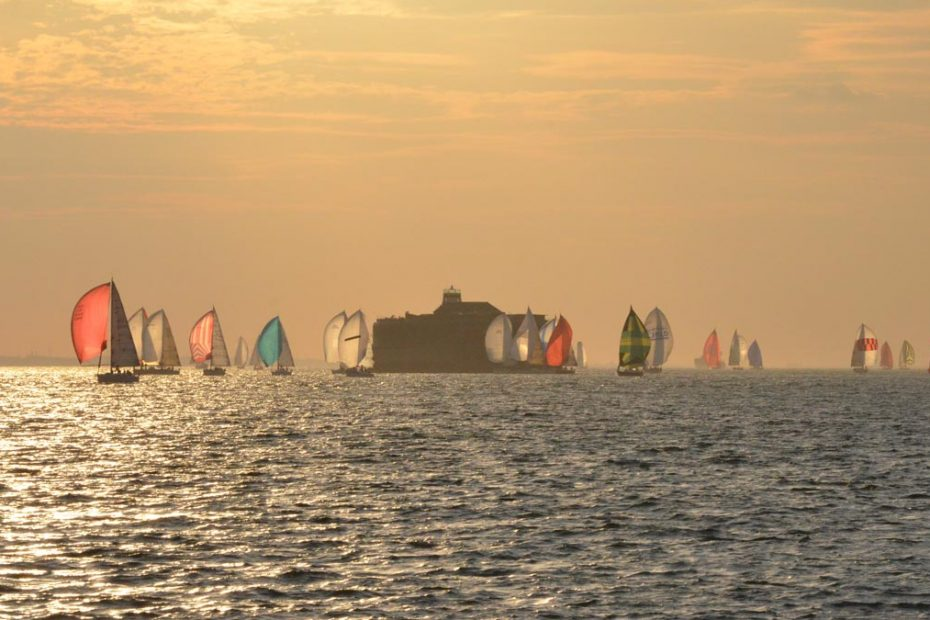Solent late afternoon sailing